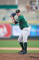 Great Lakes Loons relief pitcher Marcus Crescentini (51) gets ready to deliver a pitch during the first game of a doubleheader against the Fort Wayne TinCaps on May 11, 2016 at Parkview Field in Fort Wayne, Indiana.  Great Lakes defeated Fort Wayne 3-0.  (Mike Janes/Four Seam Images)