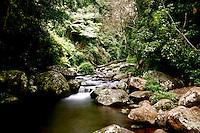 The Top of Elabana Falls in Lamington National Park, Queensland