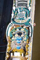 Kreuzfahrtschiff Aida Sol Sonnendeck: EUROPA, DEUTSCHLAND, HAMBURG, (EUROPE, GERMANY), 15.09.2016: Kreuzfahrtschiff Aida Sol Sonnendeck