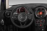 Car pictures of steering wheel view of a 2019 MINI Hardtop-4-Door Cooper-Signature 5 Door Hatchback Steering Wheel