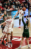 COLLEGE PARK, MD - DECEMBER 8:  during a game between Loyola University and University of Maryland at Xfinity Center on December 8, 2019 in College Park, Maryland.