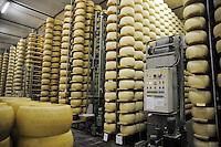 - Pozzali food industries Trescore Cremasco (Cremona); production of cheese Grana padano DOP;  ..warehouse for maturation....- Pozzali Industrie Alimentari a Trescore Cremasco (Cremona), produzione del formaggio Grana Padano DOP;  magazzino per la stagionatura