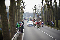 escape group about to get caught<br /> <br /> 71st Nokere Koerse