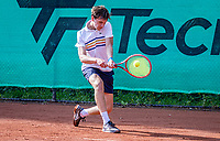 Hilversum, Netherlands, August 5, 2021, Tulip Tennis center, National Junior Tennis Championships 16 and 18 years, NJK,Boys single 18 years, Max Adriaanse (NED)<br /> Photo: Tennisimages/Henk Koster