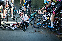 Leo Hayter (GBR/Development Team Sunweb) involved in a crash <br /> <br /> Heistse Pijl 2020<br /> One Day Race: Heist-op-den-Berg > Heist-op-den-Berg 190km  (UCI 1.1)<br /> ©kramon