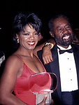 Oprah Winfrey with her father Vernon Winfrey attends the Academy of Television Arts and Sciences' Hall of Fame at the Walt Disney World on October 1, 1994 in Orlando, Florida.