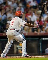 Howard, Ryan 5643.jpg Philadelphia Phillies at Houston Astros. Major League Baseball. September 6th, 2009 at Minute Maid Park in Houston, Texas. Photo by Andrew Woolley.
