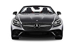 Car photography straight front view of a 2017 Mercedes Benz SLC SLC300 2 Door Convertible