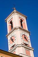 Europe/France/Provence-Alpes-Côte d'Azur/06/Alpes-Maritimes/Nice: Tour de l'Horloge XVIII ème siècle,  place du Palais de Justice