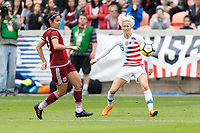 Houston, TX - Sunday April 08, 2018: Megan Rapinoe during an International Friendly soccer match between the USWNT and Mexico at BBVA Compass Stadium.