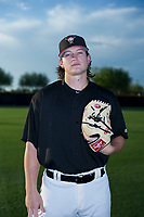 AZL Diamondbacks pitcher Trent Autry (50) poses for a photo before a game against the AZL Padres 2 on August 29, 2017 at Salt River Fields at Talking Stick in Scottsdale, Arizona. AZL Diamondbacks defeated the AZL Padres 2 4-3. (Zachary Lucy/Four Seam Images)