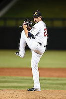 Salt River Rafters pitcher Jason Adam (26) during an Arizona Fall League game against the Scottsdale Scorpions on October 7, 2014 at Salt River Fields at Talking Stick in Scottsdale, Arizona.  Scottsdale defeated Salt River 7-4.  (Mike Janes/Four Seam Images)