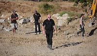 2016 10 07 Ben Needham search, Kos, Greece