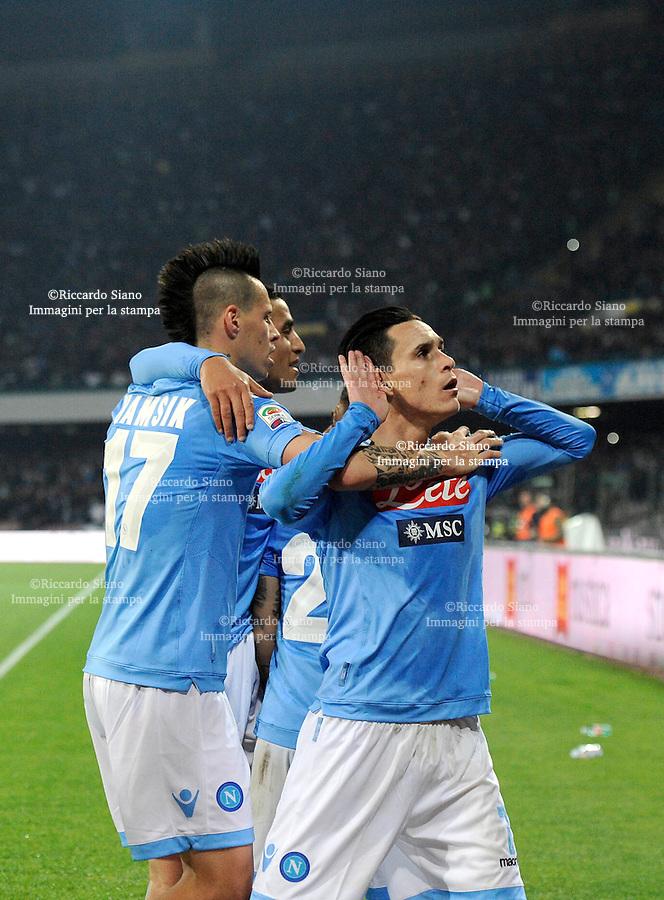 - NAPOLI 30 MAR  -  Stadio San Paolo    Napoli - Juventus<br />  gol di callejon