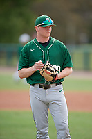 Dartmouth Big Green Alec Vaules (39) during practice before a game against the USF Bulls on March 17, 2019 at USF Baseball Stadium in Tampa, Florida.  USF defeated Dartmouth 4-1.  (Mike Janes/Four Seam Images)