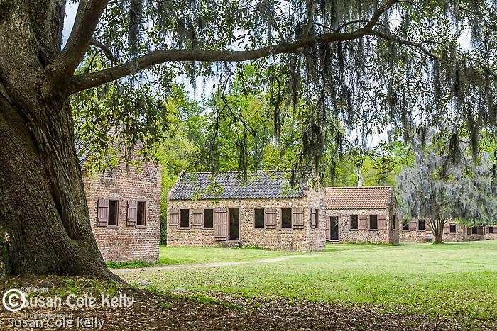 The Slave cabins at Boone Hall Plantation, Mt. Pleasant, SC