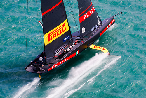 Luna Rossa - performance was extremely smooth in difficult conditions Photo: Studio Borlenghi