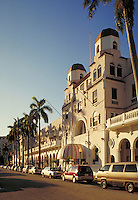 The aristocratic, old Palm Beach Hotel in Palm Beach , Florida.  Resorts, vacations, architecture, street scene. Florida.