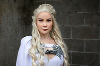 Daenerys Mother of Dragons Cosplay by The Tattood Princess, Emerald City Comicon, Seattle, Wa.
