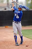 David Lough  - Kansas City Royals - 2009 spring training.Photo by:  Bill Mitchell/Four Seam Images
