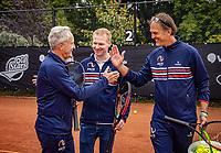 Oldenzaal, Netherlands, August 15, 2019, TC Ready, Old Stars Program, Tom Okker <br /> Photo: Tennisimages/Henk Koster