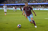 SAN JOSÉ CA - JULY 27: Tommy Smith #5 during a Major League Soccer (MLS) match between the San Jose Earthquakes and the Colorado Rapids on July 27, 2019 at Avaya Stadium in San José, California.