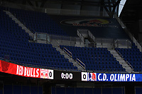 Harrison, NJ - Thursday March 01, 2018: Red Bull Arena. The New York Red Bulls defeated C.D. Olimpia 2-0 (3-1 on aggregate) during a 2018 CONCACAF Champions League Round of 16 match at Red Bull Arena.