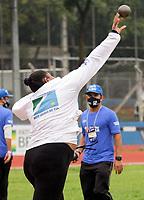 São Paulo (SP), 10/062021 - Atletismo-SP - Nesta quinta-feira (10), no estádio do Centro Olímpico de Treinamento e Pesquisa (COTP), em São Paulo, começou o Troféu Brasil de Atletismo. O evento é uma das últimas oportunidades para os atletas alcançarem os índices para os Jogos Olímpicos de Tóquio.