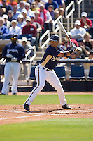 March 13, 2010 - Milwaukee Brewers' Jody Gerut (#22) during a spring training game against the Colorado Rockies at Maryvale Baseball Park in Maryvale, Arizona.