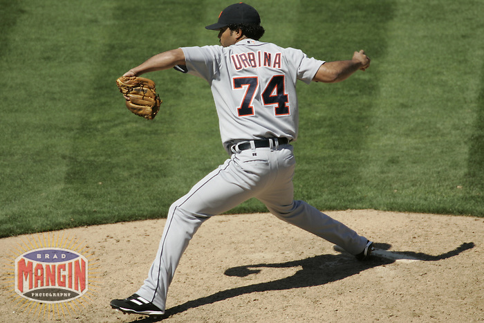 Ugueth Urbina. Baseball: Detroit Tigers vs Oakland Athletics. Oakland, CA 8/12/2004 MANDATORY CREDIT: Brad Mangin