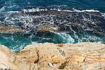 Rugged cliffs of Montana de Oro State Park, San Luis Obispo, Caliornia