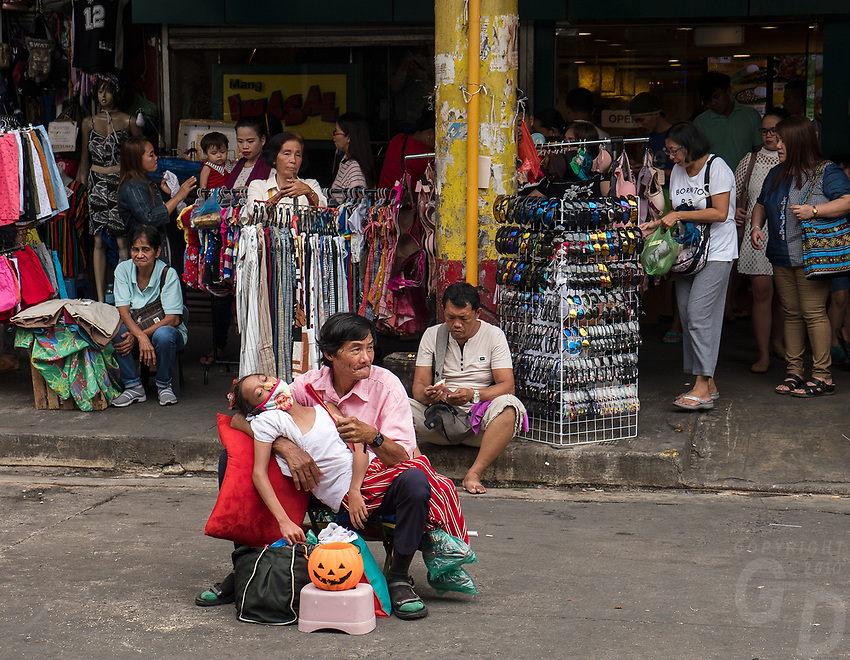 Street photography, life in the City of Manila, Philippines
