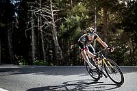 Steven Kruijswijk (NED/Jumbo-Visma) in the descent of the Col de Beixalis<br /> <br /> Stage 15 from Céret to Andorra la Vella (191km)<br /> 108th Tour de France 2021 (2.UWT)<br /> <br /> ©kramon