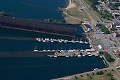 Lower Harbor of Marquette, Upper Peninsula of Michigan.