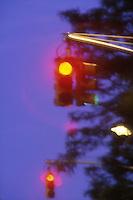 Red traffic lights<br />