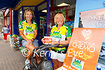 Spinning for Comfort for Chemo in Cahersiveen on Saturday members of the 54321 Challenge pictured l-r; Angela O'Connor &  Marian Kelly.