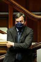 Italian Minister of European Affairs Vincenzo Amendola during the Premier speech about the European Council at the Chamber of Deputies. Rome (Italy), July 22nd 2020<br /> Foto Samantha Zucchi Insidefoto