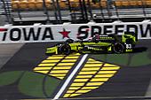 Verizon IndyCar Series<br /> Iowa Corn 300<br /> Iowa Speedway, Newton, IA USA<br /> Saturday 8 July 2017<br /> Charlie Kimball, Chip Ganassi Racing Teams Honda<br /> World Copyright: Michael L. Levitt<br /> LAT Images