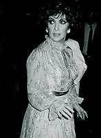 Gina Lollabrigida 1984<br /> Photo By John Barrett-PHOTOlink.net / MediaPunch