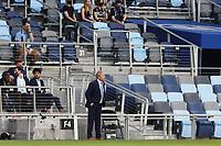 SAINT PAUL, MN - MAY 1: Adrian Heath head coach of Minnesota United FC during a game between Austin FC and Minnesota United FC at Allianz Field on May 1, 2021 in Saint Paul, Minnesota.