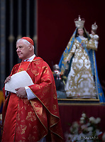 Cardinal Gerhard Ludwig Müller.Pope Francis   during  the holy mass of Pentecost Sunday at St Peter's square in Vatican. on 4 June 2017