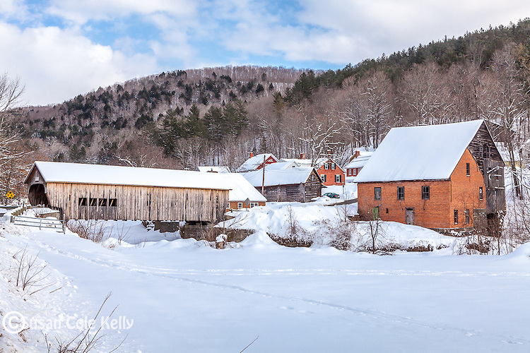 The village of Tunbridge, VT, USA