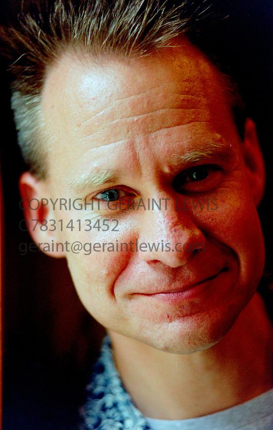 Peter Sellars ,American  Theatre, Opera, Film Director at The Edinburgh International Festival in 1995. Now a Professor at UCLA. CREDIT Geraint Lewis