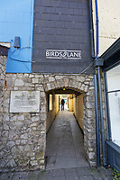 Pictured: Birds Lane in Cowbridge. Tuesday 20 April 2020<br /> Re: Pre-election campaign in the Vale of Glamorgan, Wales, UK.
