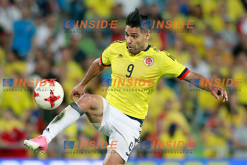 Colombia's Radamel Falcao during international friendly match. June 13,2017.(ALTERPHOTOS/Acero/Insidefoto)<br /> Camerun - Colombia <br /> Foto Acero/Alterphotos/Insidefoto <br /> ITALY ONLY
