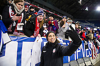 HARRISON, New Jersey - Saturday, March 4, 2017: The United States Women's National Team (USWNT) takes on England during the SheBelieves Cup.