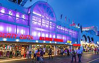 Gift shop on boardwalk, Atlantic City, New Jersey, USA
