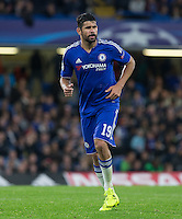 Diego Costa of Chelsea during the UEFA Champions League match between Chelsea and Maccabi Tel Aviv at Stamford Bridge, London, England on 16 September 2015. Photo by Andy Rowland.