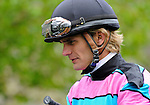 Jockey Jamie Theriot during Blue Grass Stakes Day on April 16, 2011 at Keeneland in Lexington, Kentucky.  (Bob Mayberger/Eclipse Sportswire)