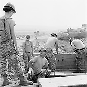 San Diego, California<br /> May 15, 2008<br /> <br /> The National Guard constructs a new drainage ditch along a new border road. The road runs along the US/ Mexican - San Isidro/Tijuana border fence.